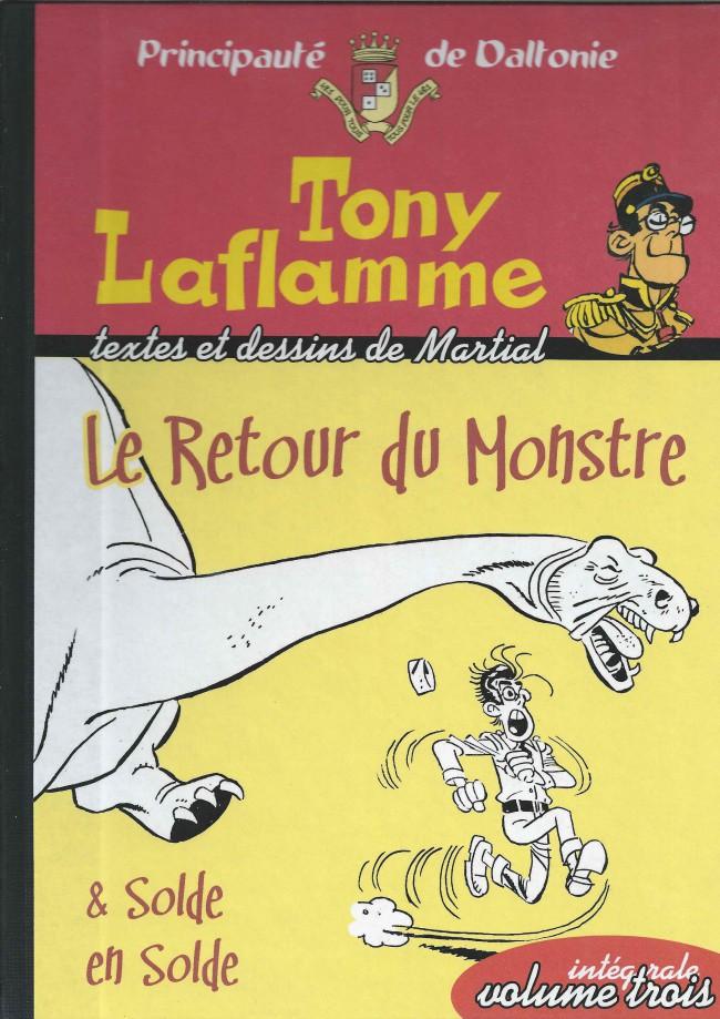 Couverture de Tony Laflamme -INT3- Le Retour du Monstre & Solde en Solde