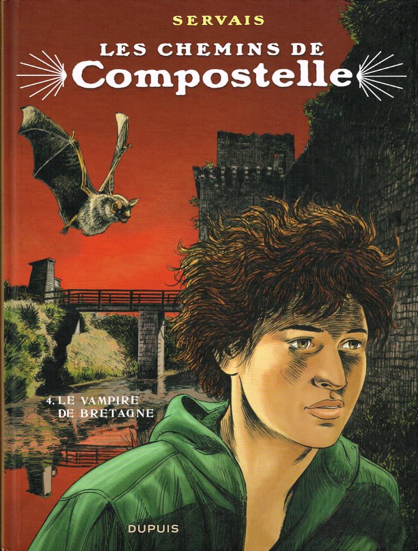 Couverture de Les chemins de Compostelle -4- Le Vampire de Bretagne