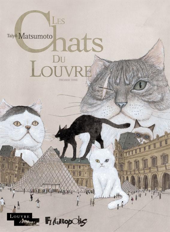 Couverture de Les chats du Louvre -1- Premier tome