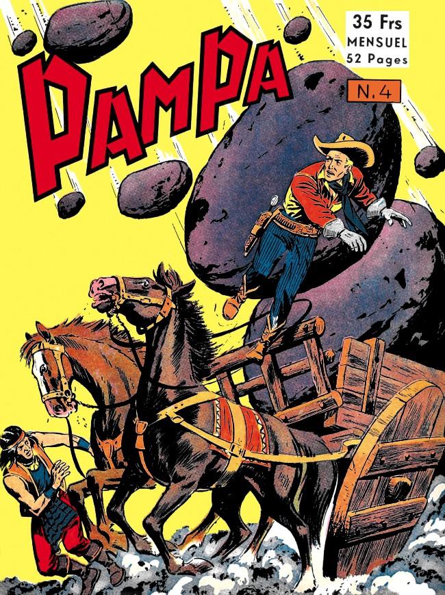 Couverture de Pampa (Lug - 1re série) -4- Stormy Red - Le trésor du sachem