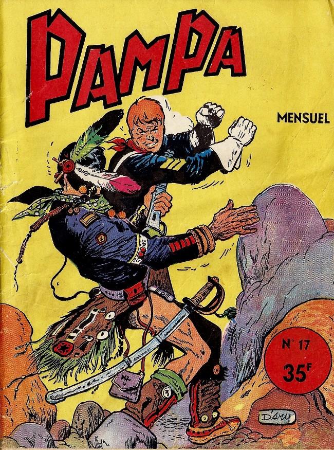 Couverture de Pampa (Lug - 1re série) -17- Bull Rockett - La dune de la mort noire