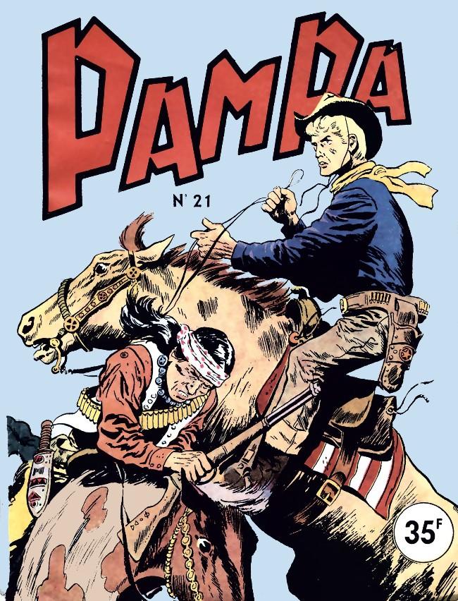 Couverture de Pampa (Lug - 1re série) -21- Rocky