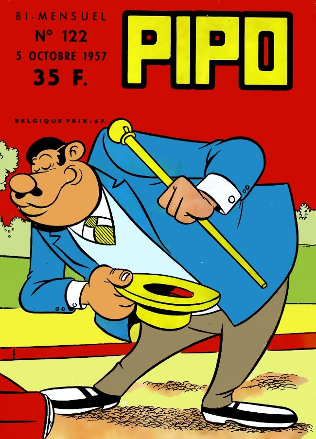Couverture de Pipo (Lug) -122- Les trésors n'apportent pas la fortune