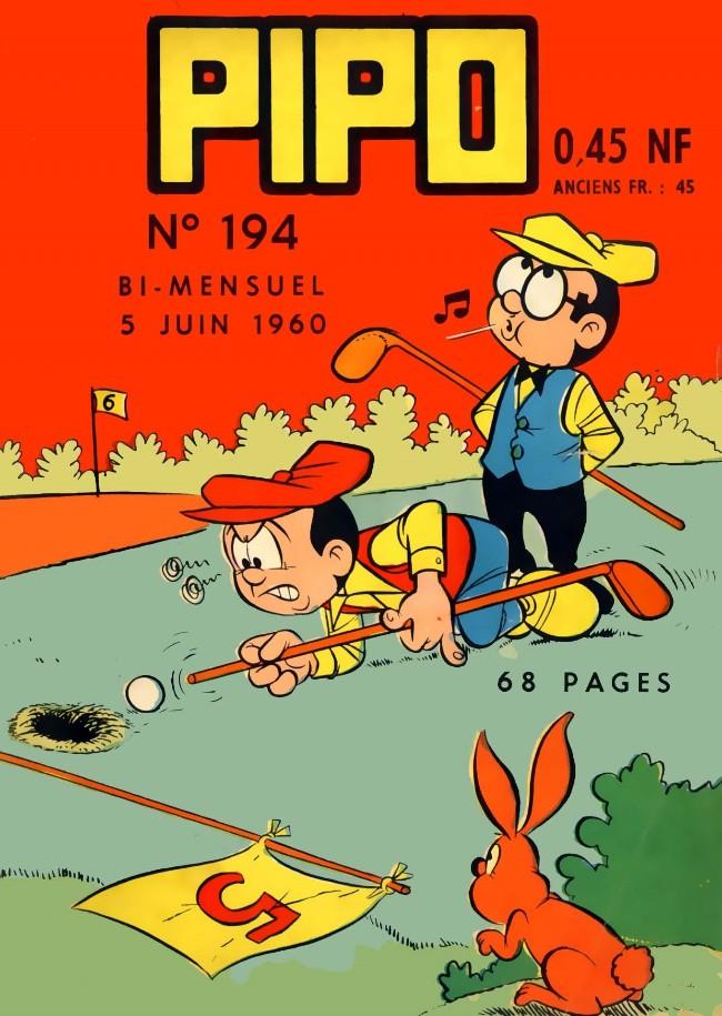 Couverture de Pipo (Lug) -194- Une journée de chance