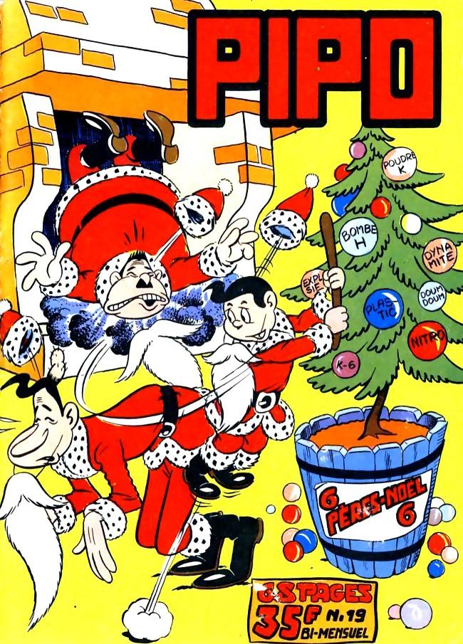 Couverture de Pipo (Lug) -19- La légende du Père Noël