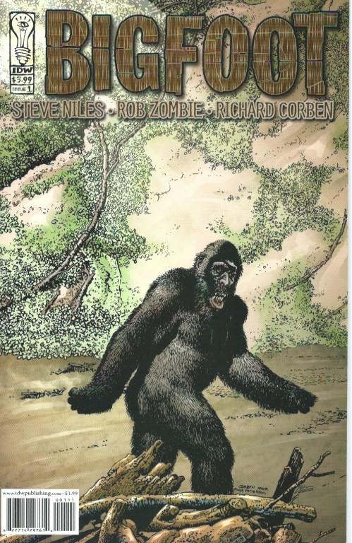 Couverture de Bigfoot (2005) -1- Bigfoot #1