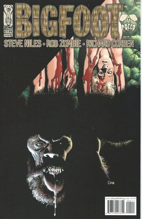 Couverture de Bigfoot (2005) -4- Bigfoot #4