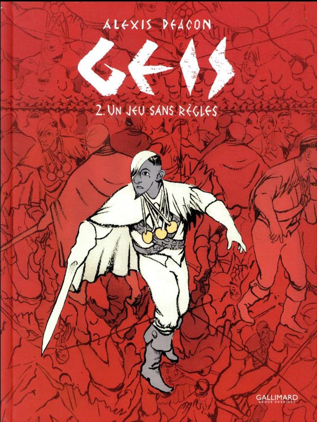 Couverture de Geis -2- Un jeu sans règles