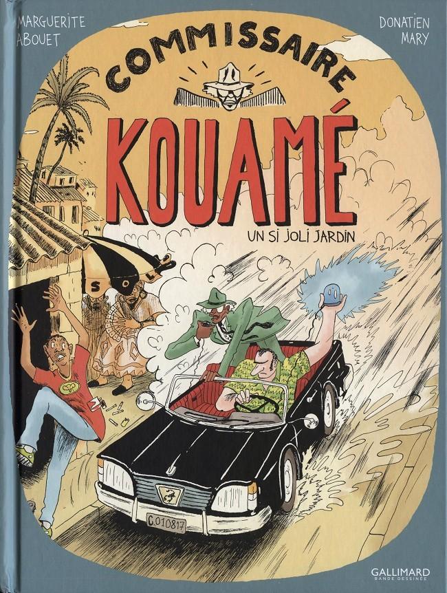 Couverture de Commissaire Kouamé -1- Un si joli jardin
