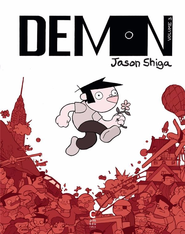 Couverture de Demon (Shiga) -3- Volume 3