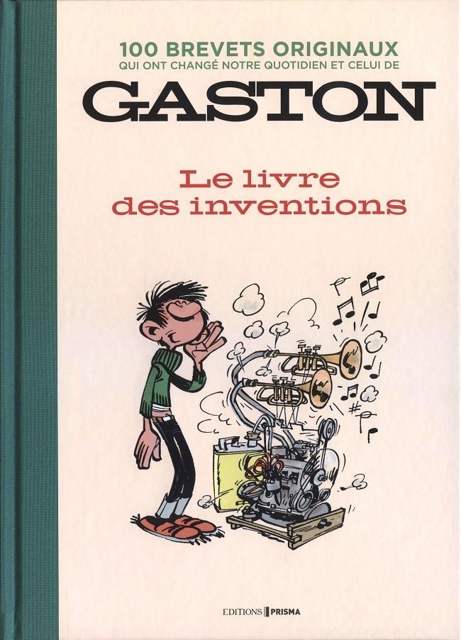 Couverture de Gaston (Hors-série) - Le Livre des inventions