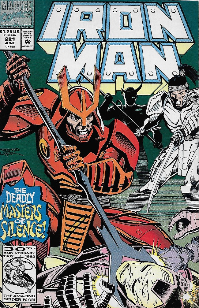 Couverture de Iron Man Vol.1 (Marvel comics - 1968) -281- The Masters of Silence
