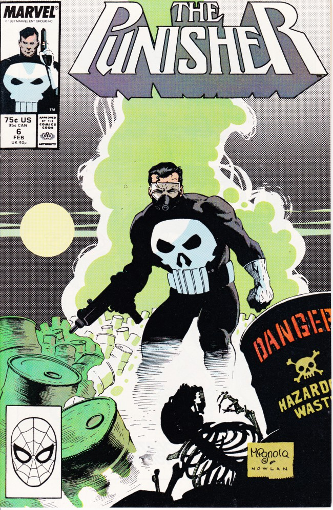 Couverture de Punisher (1987) (The) -6- Garbage