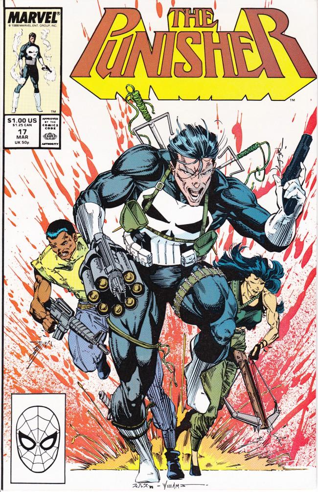 Couverture de Punisher (1987) (The) -17- Computer War