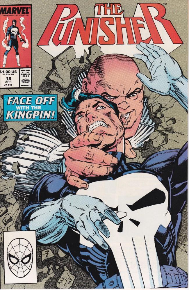Couverture de Punisher (1987) (The) -18- Face Off