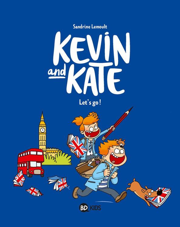 Couverture de Kevin and Kate -1- Let's go !
