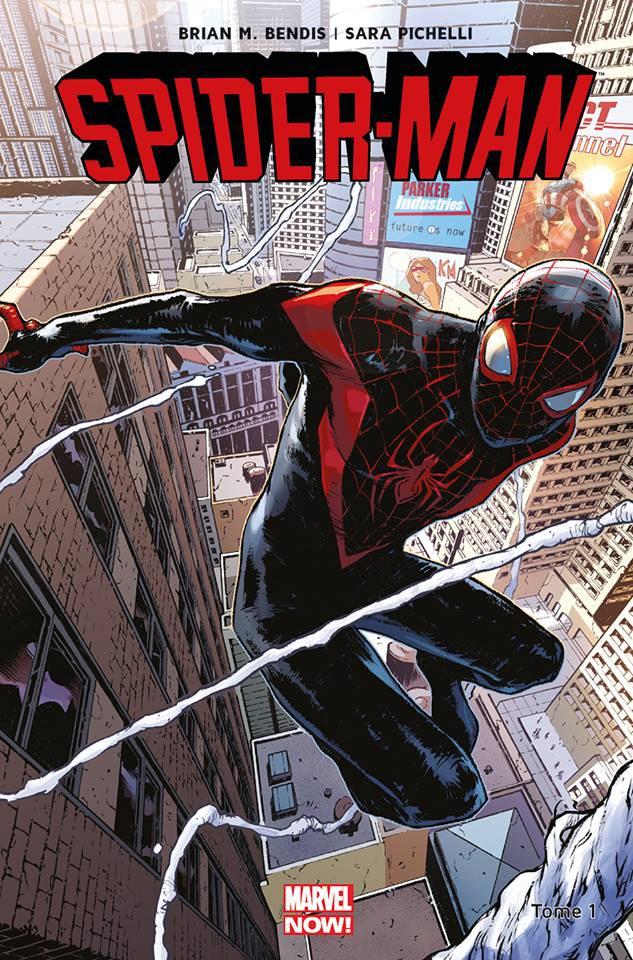 Couverture de Spider-Man (Marvel Now!) -1- Miles Morales