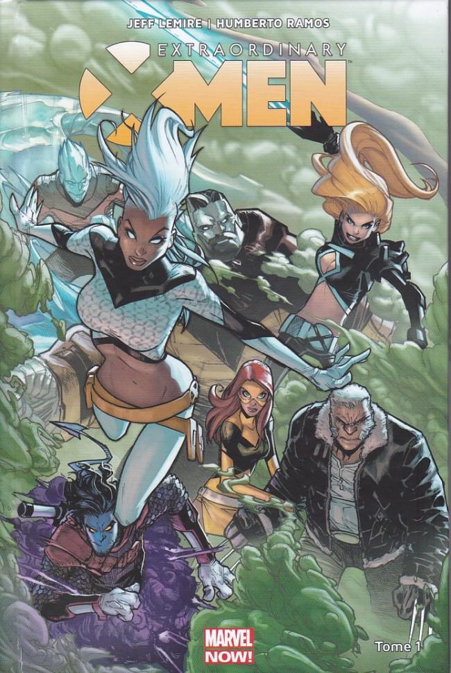 Couverture de Extraordinary X-Men -1- Refuge-X