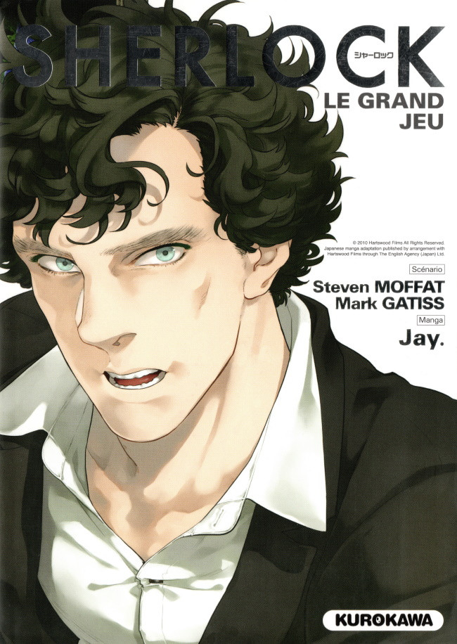 Couverture de Sherlock (Moffat & Jay.) -3- Le Grand Jeu