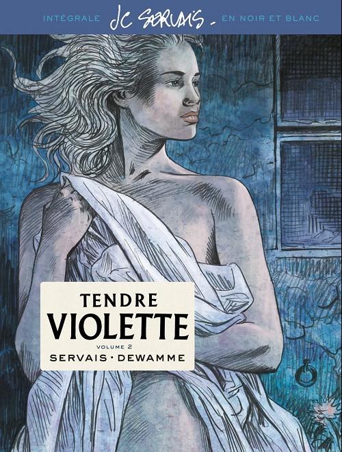 Couverture de Tendre Violette (N&B) -INT02- Volume 2