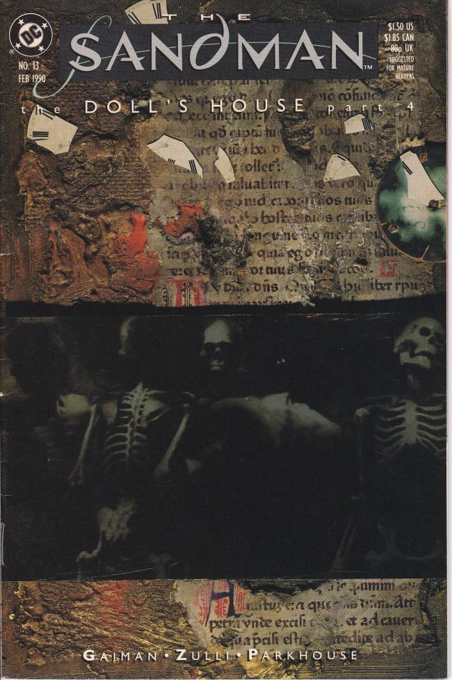 Couverture de Sandman (The) (1989) -13- Men of Good Fortune [The Doll's House Part 4]