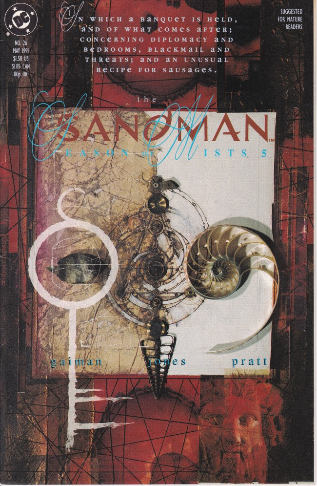 Couverture de The sandman (DC comics - 1989) -26- Season of Mists Part 5