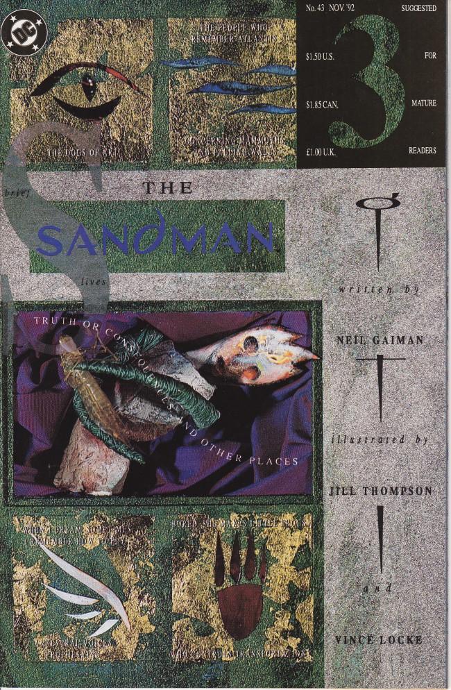 Couverture de Sandman (The) (1989) -43- Brief Lives 3