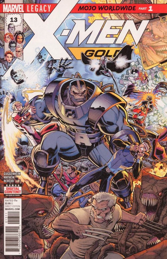 Couverture de X-Men: Gold (2017) -13- Mojo Worldwide: Part 1