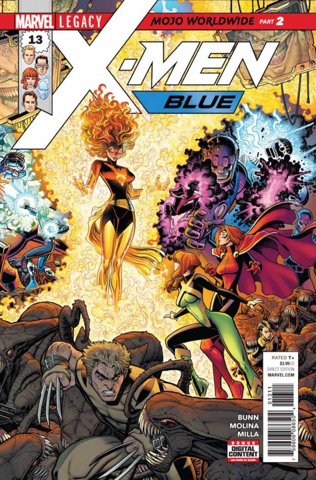 Couverture de X-Men: Blue (2017) -13- Mojo Worldwide: Part 2