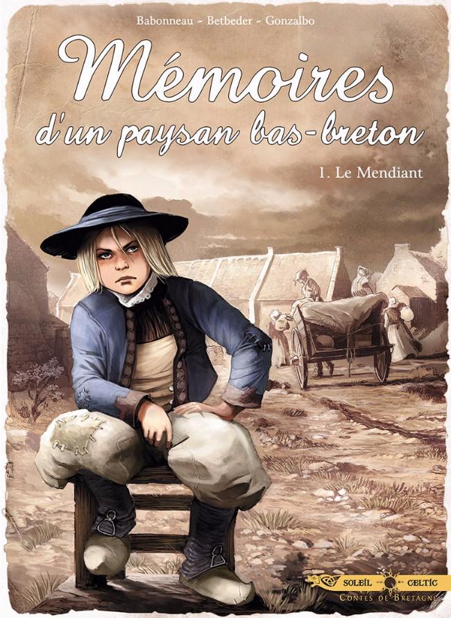 Couverture de Mémoires d'un paysan bas-breton -1- Le Mendiant