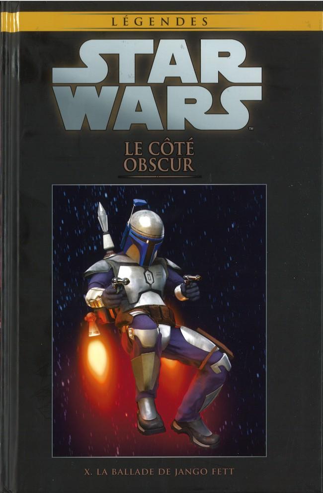 Couverture de Star Wars - Légendes - La Collection (Hachette) -51X- Le Coté Obscur - X. La ballade de Jango Fett