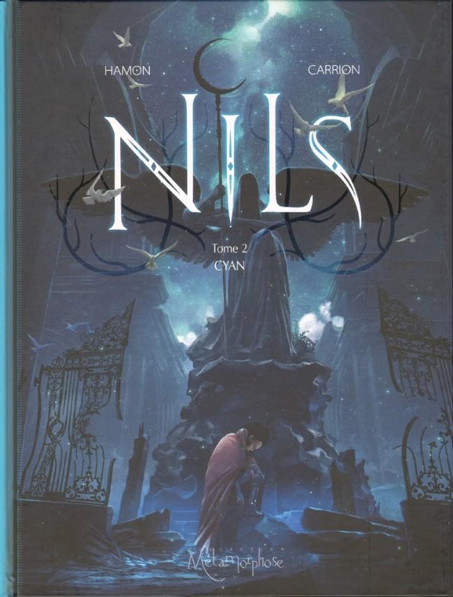 Couverture de Nils -2- Cyan