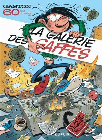 Couverture de Gaston (Hors-série) - La galerie des gaffes - 60 auteurs rendent hommage à Gaston Lagaffe