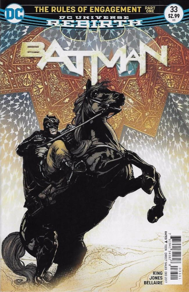 Couverture de Batman (2016) -33- The Rules of Engagement, Part One