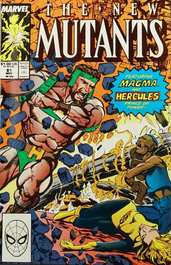 Couverture de New Mutants (The) (1983) -81- Faith