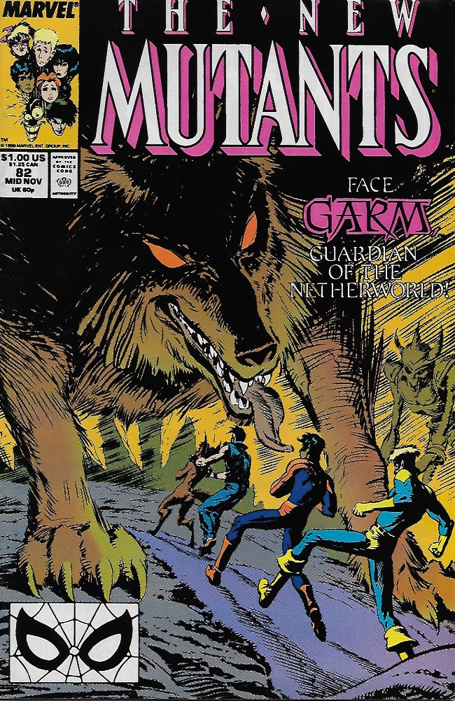 Couverture de New Mutants (The) (1983) -82- The Road to Hel...