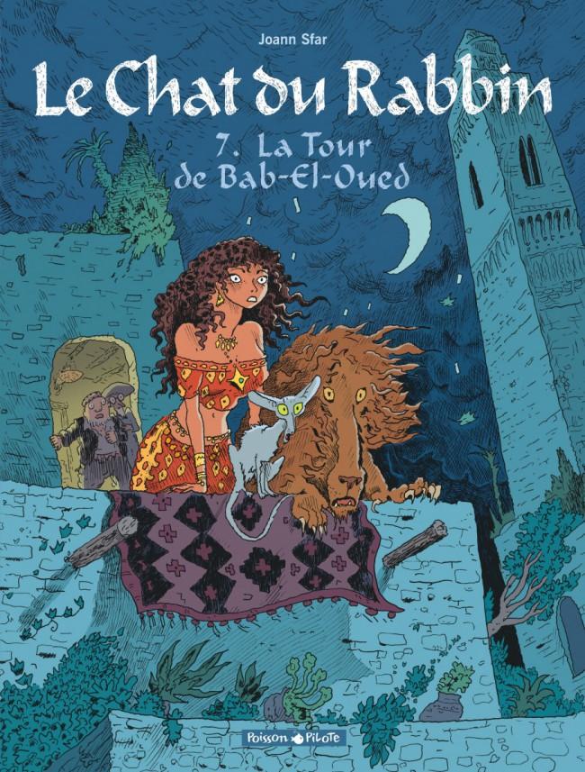 Couverture de Le chat du Rabbin -7- La Tour de Bab-El-Oued