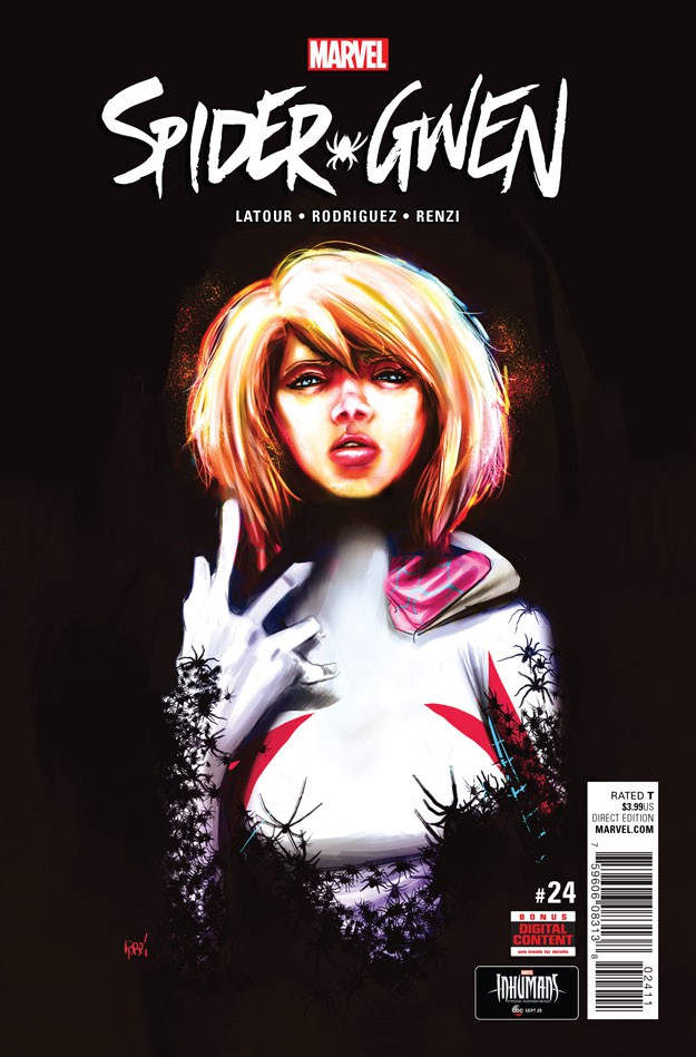 Couverture de Spider-Gwen (2015) [I] -24- Issue #24