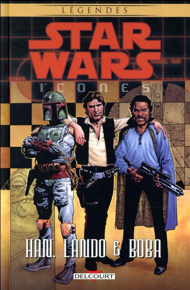 Couverture de Star Wars - Icones -5- Han, Lando & Boba