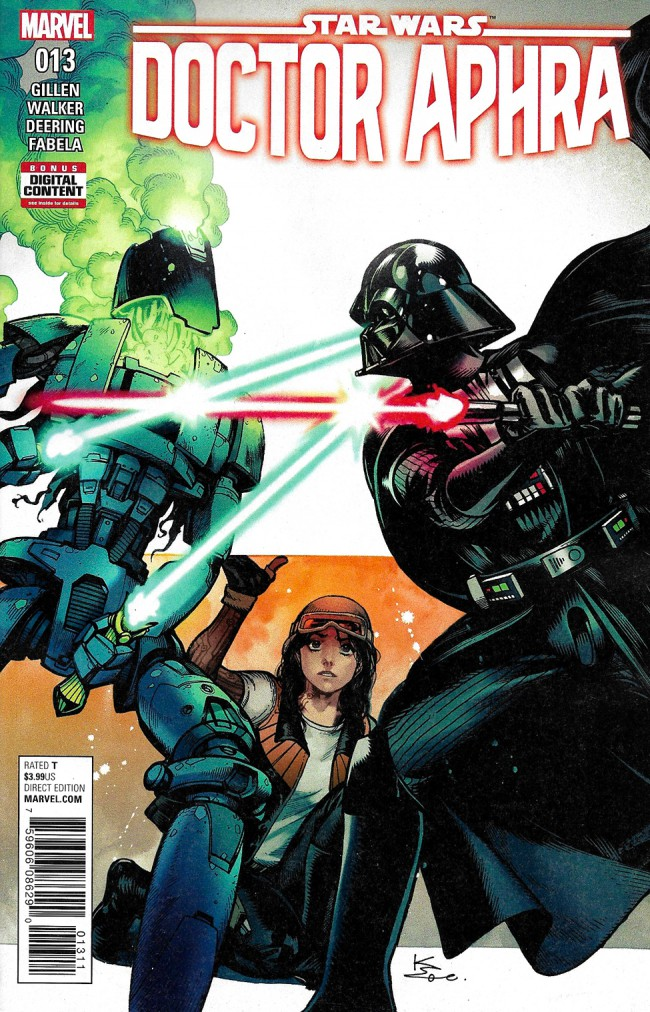 Couverture de Star Wars: Doctor Aphra (2016) -13- doctor Aphra And The Enormous Profit Part V