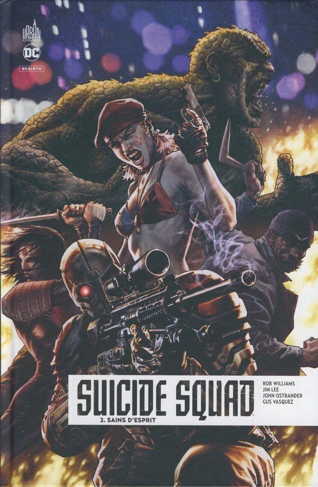 Couverture de Suicide Squad Rebirth -2- Sains d'esprit