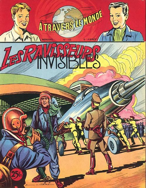 Couverture de À travers le monde (2e série) -102- Les Ravisseurs invisibles