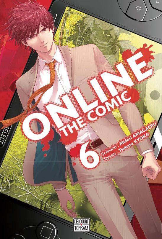Couverture de Online the comic -6- Tome 6