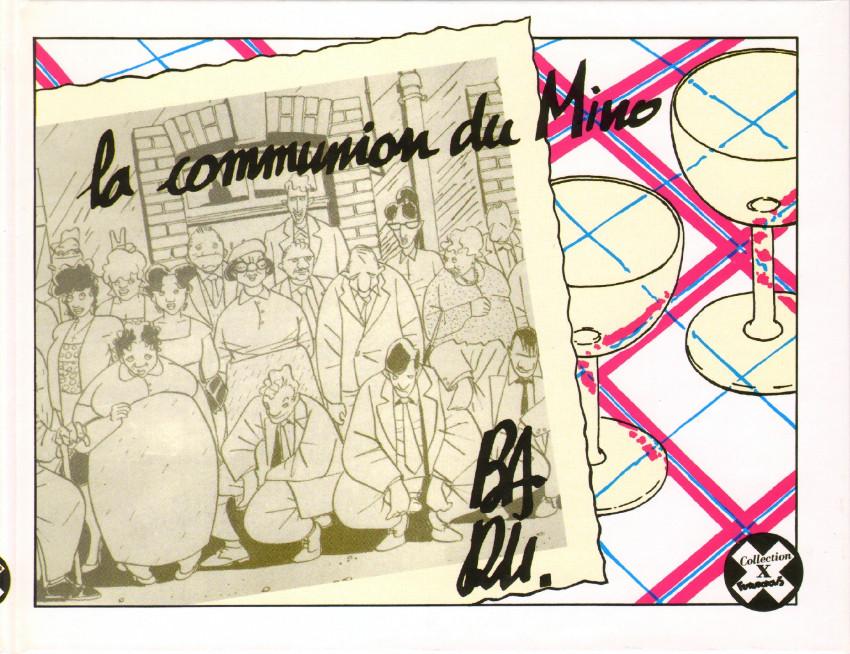 Couverture de La communion du Mino