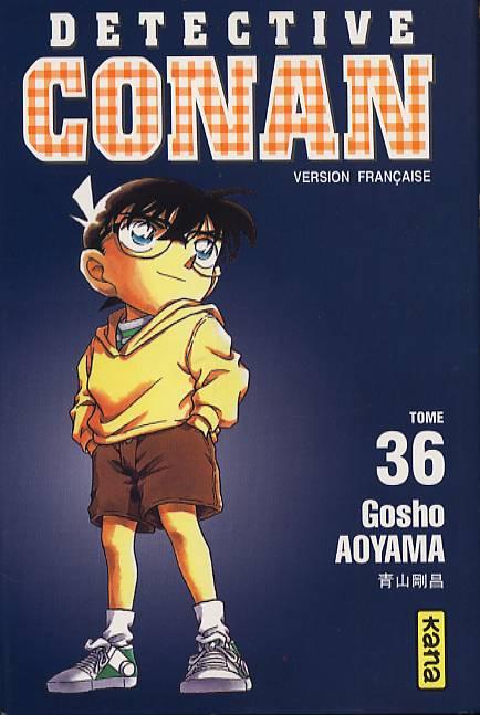 Couverture de Détective Conan -36- Tome 36