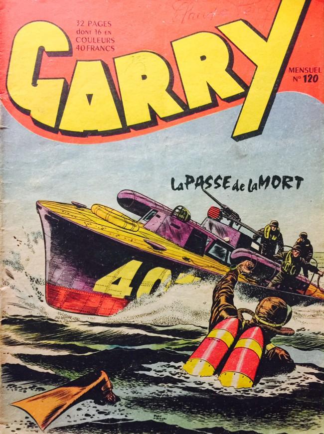 Couverture de Garry -120- La passe de la mort