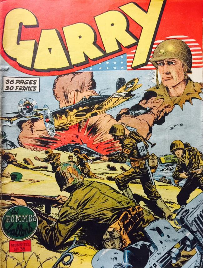 Couverture de Garry -38- Les hommes ballons