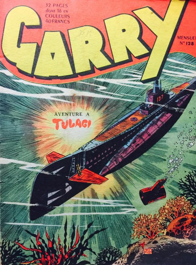 Couverture de Garry -128- Aventure à Tulagi