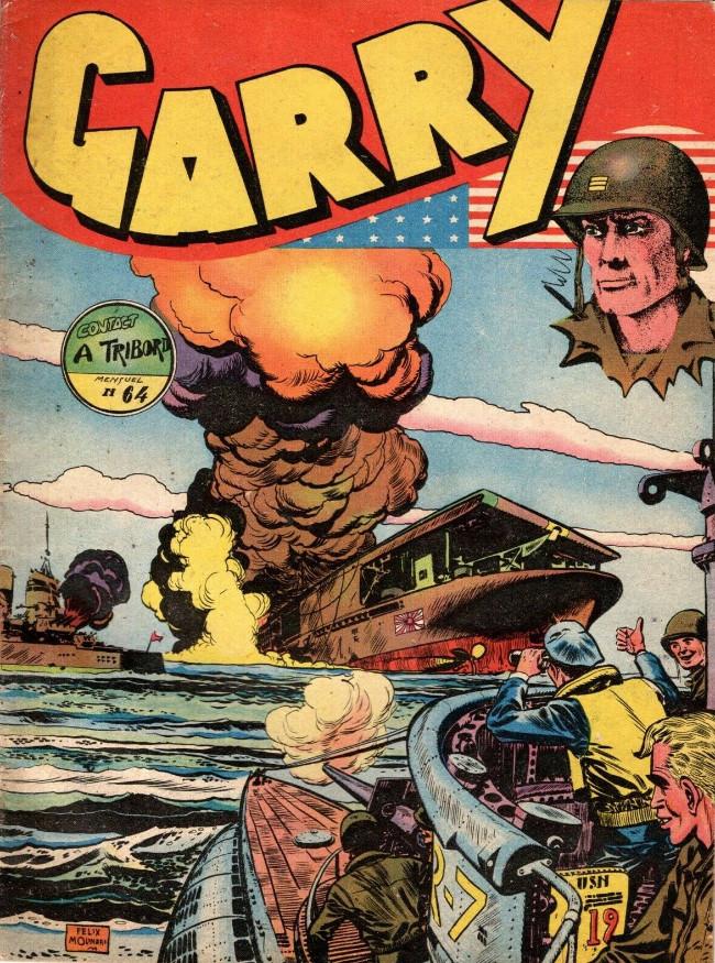 Couverture de Garry (sergent) (Imperia) (1re série grand format - 1 à 189) -64- Contact à tribord