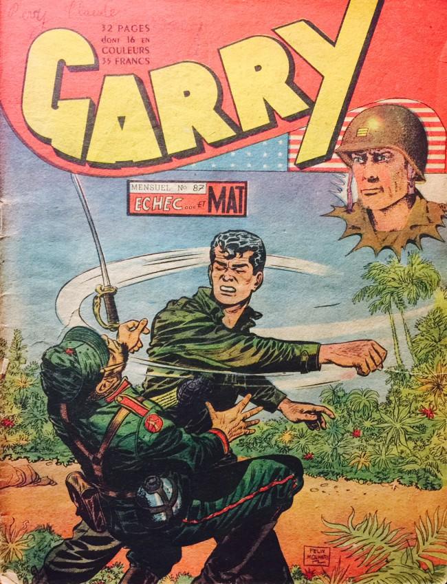 Couverture de Garry -87- Echec et mat